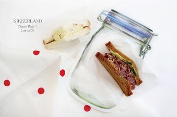 サンドイッチなどもすっぽり入るから、お弁当箱代わりに使うのもあり◎電子レンジや冷凍保存はできませんが、食器洗浄機には対応しています!