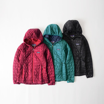 濡れても保温性を98%維持する高スペック◎!デイリーユースとしてはもちろん、秋冬のアウトドアやフェスでも大活躍間違いなしです。コートのインナーとして着て、フードをチラ見せしても可愛いですね。