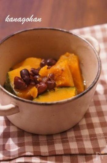 小豆と南瓜を一緒に炊いた「いとこ煮」も冬至におすすめの一品です。邪気を払う小豆と、「ん」がつく縁起のいいかぼちゃ(南瓜)は栄養もばっちり!