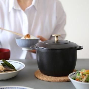 素材の美味しさを楽しんで。「ストウブ(staub)」のお鍋で作るあったかレシピ