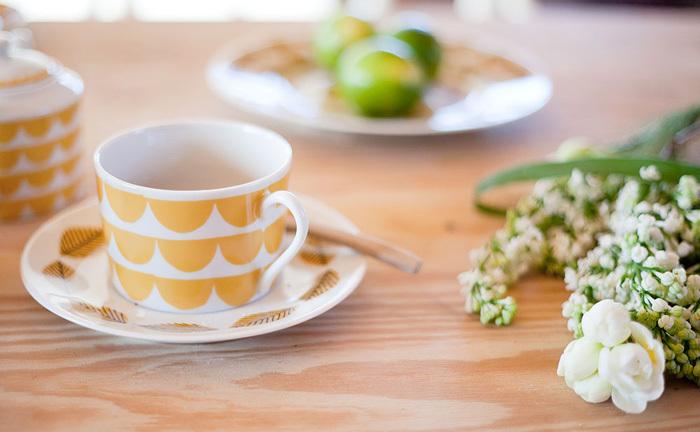 お友達とおうちカフェを楽しむなら、ステキなカップも用意しておきたいですね。House of Rym(ハウスオブリュム)のティーカップは、カップとソーサーの組み合わせを入れ替えてもかわいい♪