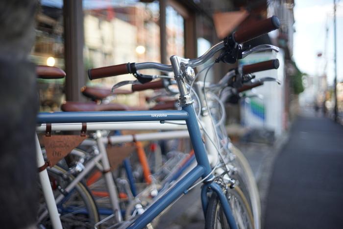 ちなみにレンタルサイクルを利用したいなら、「tokyobike Rentals Yanaka」ホームページから事前予約をお忘れなく。tokyobikeは見た目も可愛い自転車なので、範囲を広げて谷根千めぐりをしたい時、相棒にぴったりですね。