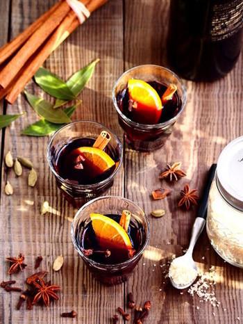 シナモンや柑橘が入った基本のレシピ。  多めに作って、お客様にサーブしても喜ばれそう!