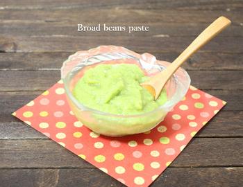 ゆでたそら豆と砂糖があればできちゃう簡単レシピ。たくさん作って冷凍しておくと、様々なおやつ作りに利用できるペーストになるので便利です!