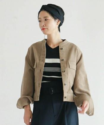 優しくふっくらとした手触りの「モールスキン」アイテム。厚みのあるあたたかな素材感で、着心地も抜群♪いつもの着こなしに「モールスキン」をプラスして、冬の上品な着こなしを楽しんでみませんか?