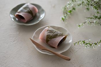 普段使いのお菓子皿としても便利。小さな物をよそいたい、そんな時にとっても便利。