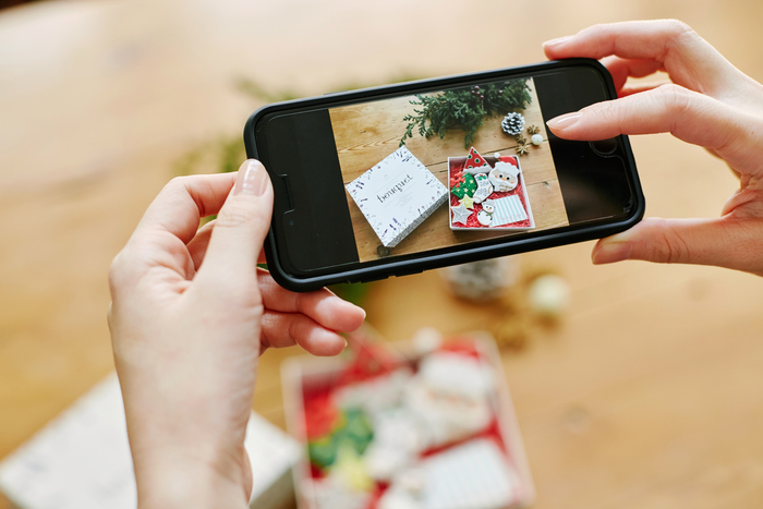 食べるのがもったいないくらい可愛い。思わず、写真を撮りたくなってしまうBouquet(ブーケ)のクリスマス仕様のアイシングクッキー。誰にプレゼントしても喜んでもらえそうな可愛いプチギフトです。