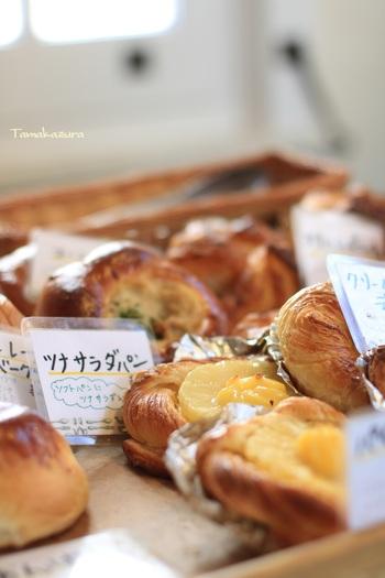 朝早くから開いているので、モーニングも頂くことができます。そしてテイクアウトのパンもあったり、なんだかとても和めるカフェなんです。