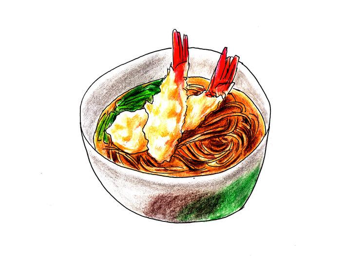 年越し蕎麦を大晦日に食べる習慣は、江戸時代に始まったといわれています。当時の商家には、毎月の末日に縁起物として「三十日蕎麦(みそかそば)」を食べる習慣があり、これが年越し蕎麦になったのだとか。  *諸説あります
