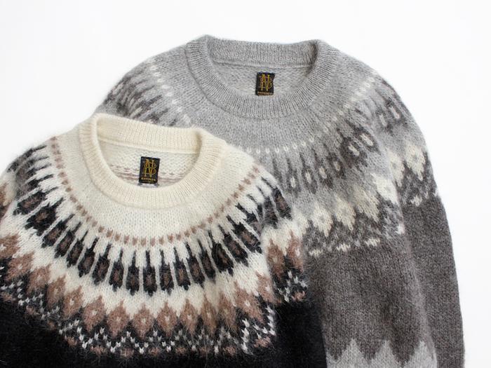 冬の気分を盛り上げる「ノルディック」アイテム。大人っぽく素敵に着こなしたい!