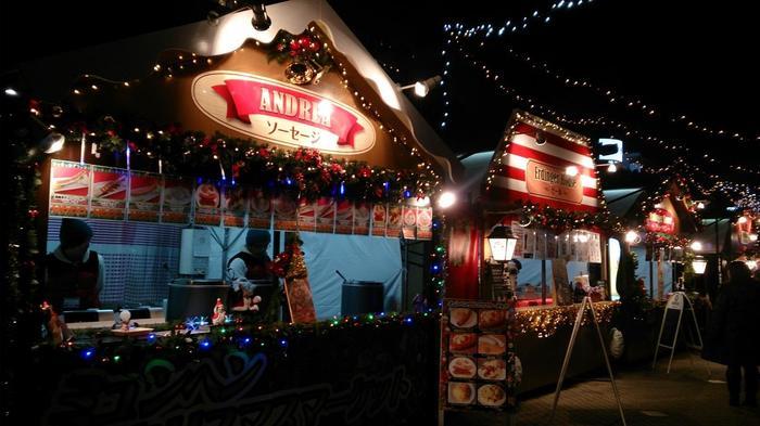今年5周年の「名古屋クリスマスマーケット」は、久屋大通公園の久屋広場で開催されます。