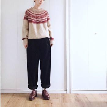 寒い冬にピッタリの柄と暖かさで、オシャレを楽しくしてくれるノルディックアイテムを使ったコーディネートをご紹介しました。ノルディックアイテムを大人可愛く着こなして、冬のファッションをもっと楽しんでくださいね。
