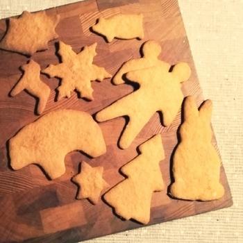 こちらはスウェーデンのジンジャークッキー「ペッパーカーカ」。薄めに焼くのがスウェーデン流です。