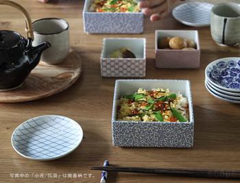 縞/、極七宝、角松皮菱など、和の趣たっぷりの素敵な柄は、普段から食卓に並べたくなります。