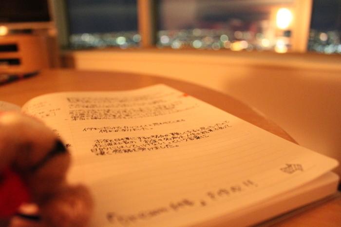 心を打つような素敵な言葉やセリフを耳にしたときには、手帳に書き込んでみて。自分へのエールや奮起させる言葉をいつもそばに置いておくことで安心や癒しをもらえそうですよね。