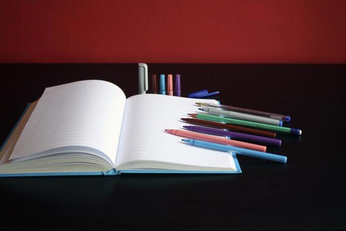 """嬉しいことは""""緑""""、お仕事関連は""""青""""など内容によって色分けしてみましょう。 どんな予定か、どんな気持ちだったのか一目でわかります。""""手帳セラピー""""では5色の使い分けが提案されていますが、何色でもOK。あなたの好きな色を使いましょう。"""