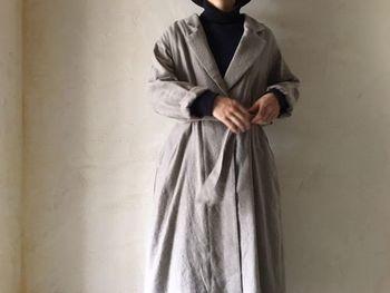 いかがでしたか?簡単に大人なスタイリングが完成するローブアイテム。衿や着丈、付属のリボンなど、ディテールにこだわって自分らしい一着を見つけてみてくださいね!