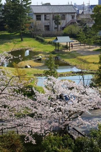 見どころの一つが「名勝 旧大乗院庭園」。奈良ホテルはこの敷地内にありますので、ホテルに宿泊した際には、立派な景色を眺めてみてください。近くにある「名勝大乗院庭園文化館」では、大乗院の模型などを見ることができますよ。