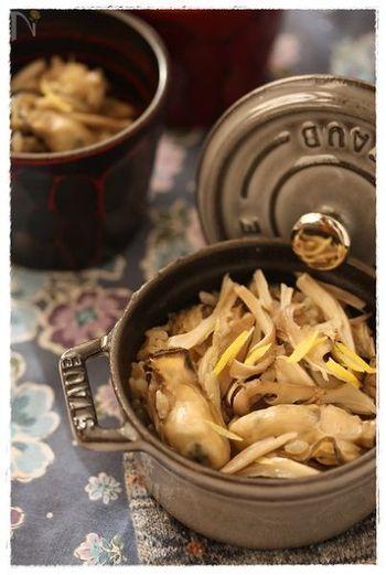 ストウブココットのすごい所は、ご飯が炊けちゃうこと!一人用の釜飯ができるのは魅力的ですね。焦らずじっくり、蒸らすのを忘れないようにしましょう。