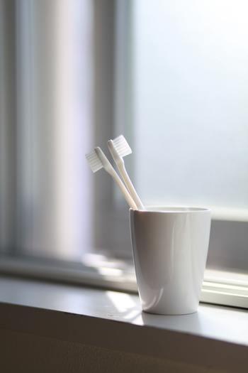 消耗品の歯ブラシだって、ちゃんとしたこだわりのモノを選べば、なんだか背筋がシャンと伸びそうです。
