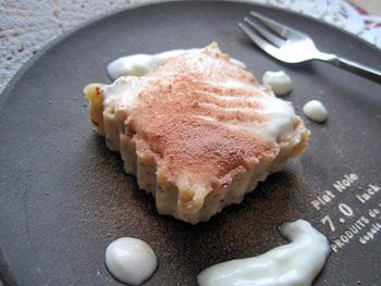 さっぱりとした口当たりが楽しめるケーキ。材料も家にあるものだけで作れちゃうお手軽ヘルシーケーキは、思いたったら即行動!そんな時にもおすすめレシピです。