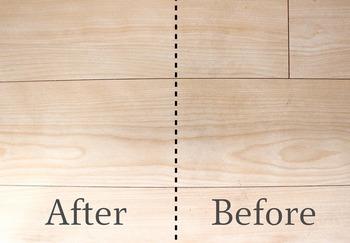 サッと拭いただけで、左側(After)の方がワントーン明るくなっているのが分かります!ぜひ、みなさんも参考にしてみてくださいね。