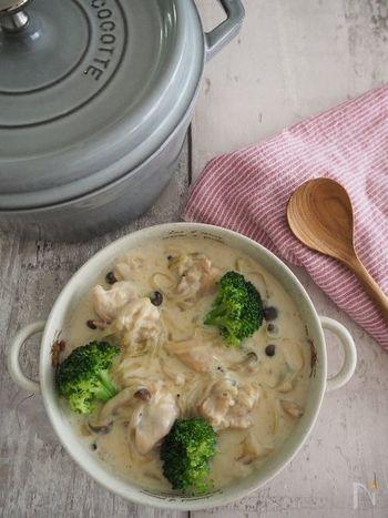 お鍋にたっぷり作って2度おいしい♪具材いろいろ『シチュー』&リメイクレシピ