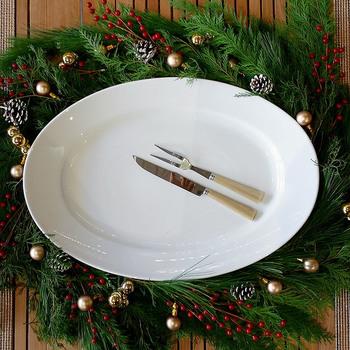 正円から楕円にしただけで、なぜかスタイリッシュで華やかに料理を演出してくれるオーバルプレート。これまでまん丸のお皿を使っていた方は、次に買う際にオーバルプレートを購入してみてはいかがでしょうか?今までの料理がオーバルプレートに盛りつけるだけで、オシャレに演出できるかもしれませんよ。