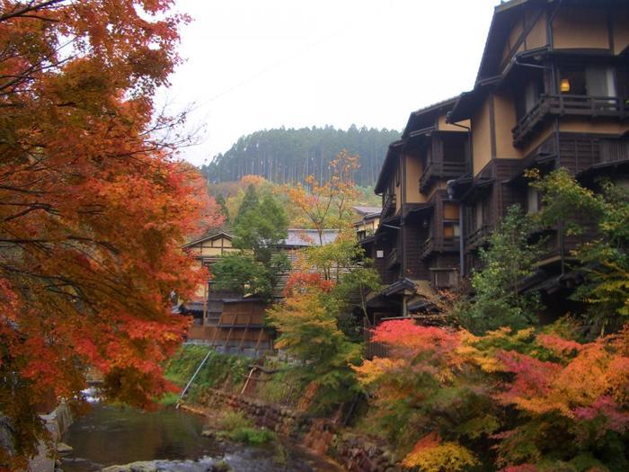 熊本県の北に位置する阿蘇郡南小国町にある「黒川温泉」。田の原川周辺に旅館が立ち並び、情緒ある雰囲気に包まれています。熊本市内から車で約1時間40分掛かりますが、時間をかけても行きたくなる魅力たっぷりの温泉地です。