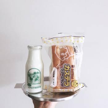 岩手県のカステラクリームサンド。カステラを挟んだパン…!?地元民にとってはソウルフードでも、他県の人から見たら新鮮ですよね。