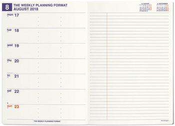 週間レフトタイプは、左ページに一週間の予定、右ページがフリーページになっているというフォーマットです。アイデアやTO DOリストを週ごとに書きたい人におすすめです。