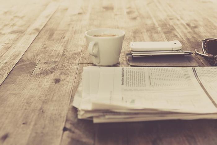 新聞もレイアウトの中に余白をしっかり取っているものの方が読みやすいですよね。余白があることによって、記事ごとのまとまりや大切な項目が目に入りやすくなります。