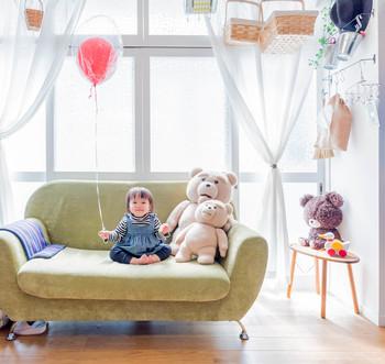 小さな子供がいてもあきらめないで!親子のおしゃれな部屋づくりのコツ3ヶ条