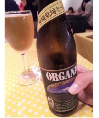 アルコールは、ビールやワインはもちろん、食前酒や焼酎、日本酒まですべてオーガニック~無農薬系。