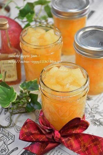 冬に食べたくなるフルーツといえば、やっぱりりんご。りんごのお酒・カルバトスを加えた、甘酸っぱい香りいっぱいのコンフィチュールです。