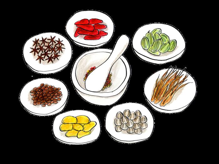 「薬膳」は中国の医学にもとづいて、『食材のいいところ』と『中薬(日本でいう漢方薬)』を組み合わせた料理のこと。上手に取り入れることで、元気なカラダに近付けるのだとか。身近なもので健康になれたら嬉しいですよね♪ 今回は「薬膳」の学び方についてご紹介します。