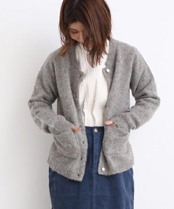 シェットランド種の羊毛は、とても希少価値の高いので、太くて目の粗いニットをシェットランドと呼んでいる場合もあります。特別な1着には、本物のシェットランドのウールを探してみたいですね。