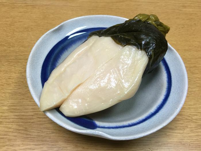 【「京つけもの 打田漬物 錦小路店」の『すぐきかぶら』】