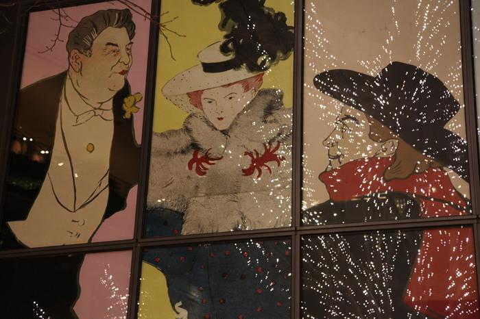 美術館に所蔵されているのは19世紀末西洋美術が中心で、年3回企画展が開催されます。こちらは、トゥールーズ=ロートレックの版画やポスターなどのコレクションの企画展。気軽に鑑賞できる企画展が多いので、ふらりと立ち寄るのも楽しいですよ。