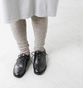 冬のコーデに大活躍してくれる、レギンス。今年履きたいのは、ゆったりしていてリラックス感のあるデザインのもの。
