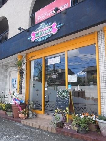 馬堀海岸駅から歩いて2~3分にある「BiBi Cafe」は愛犬家の方におすすめのカフェ。都心から近い海岸エリアは、ワンちゃんと一緒のお出かけにもおすすめ。海沿いのお散歩のあとは、ドッグカフェでランチやお茶を楽しみませんか?