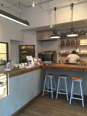 カフェにはチョコレートを原料にしたドリンクやスイーツが揃っています。