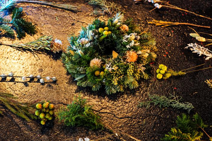 【連載】GreenSnap×キナリノ「グリーンや花をもっと身近に 」Vol.5 クリスマスリース