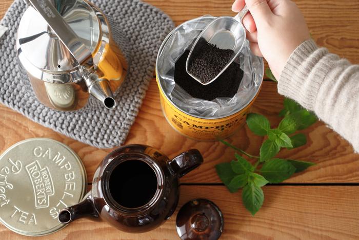 茶葉を独自の製法でつぶつぶになっており、短時間でも美味しい紅茶が抽出できます。会社でもおうちでも、ほっこり一息タイムを大切にしている方への贈り物にいかがですか?