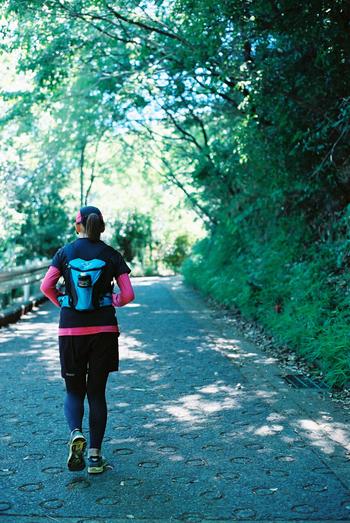 遊歩道や公園など緑の多いランニングコースが近くにあれば、気持ちよく走れますね。