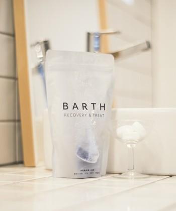 入浴をして体を温めることはむくみ解消に効果的ですが、さらに効果を上げる入浴剤を併用することもおすすめですよ♪希少な中性重炭酸泉を家庭のお風呂で再現し、血行を促進して疲労回復をサポートします。