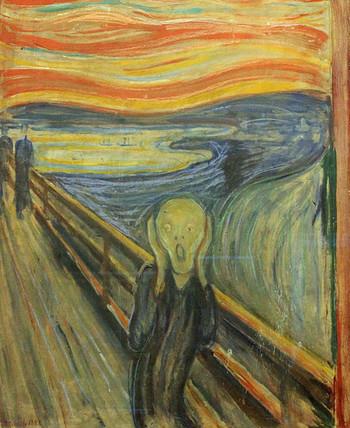 知らない人はいない「ムンクの叫び」。同タイトルの絵は数点存在し、そのうちの一点がムンク美術館に貯蔵されています。貸し出されていることもあるので、スケジュールを確認してから行きましょう。