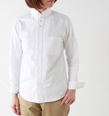 通販で買うときに難しいアイテムがシャツです。サイズ表示だけではわからない部分を写真でチェックしていきましょう。