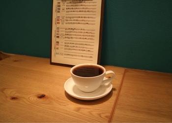 カフェは10席。