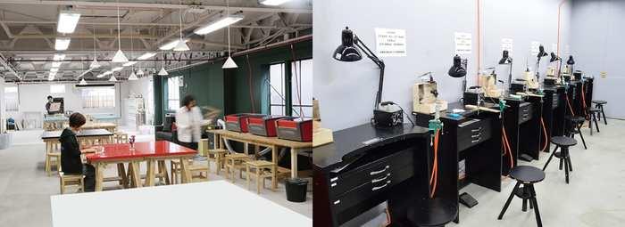 それぞれの機器を使うためには、機器の使い方を学ぶトレーニングを受講する必要があります。少人数トレーニング、個別レッスン、経験者向けの簡易確認などそれぞれのクラスによってお値段が変わります。